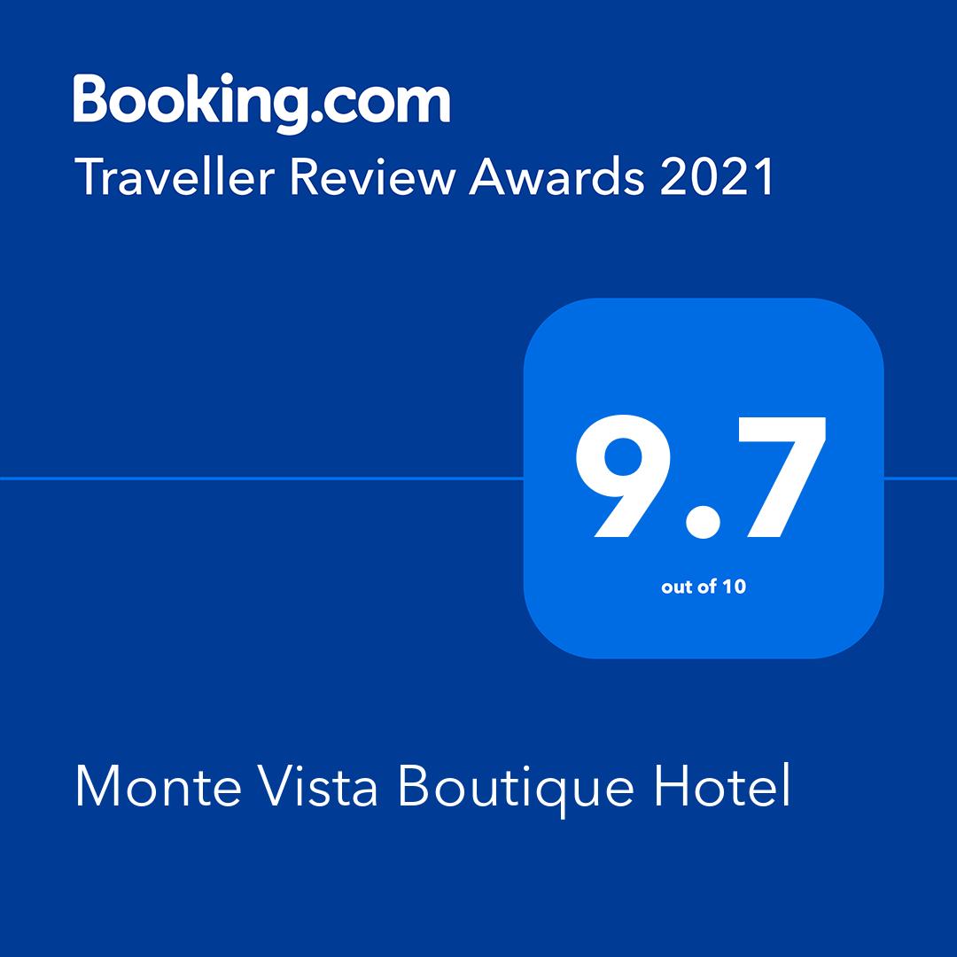 Monte Vista Award - Booking.com